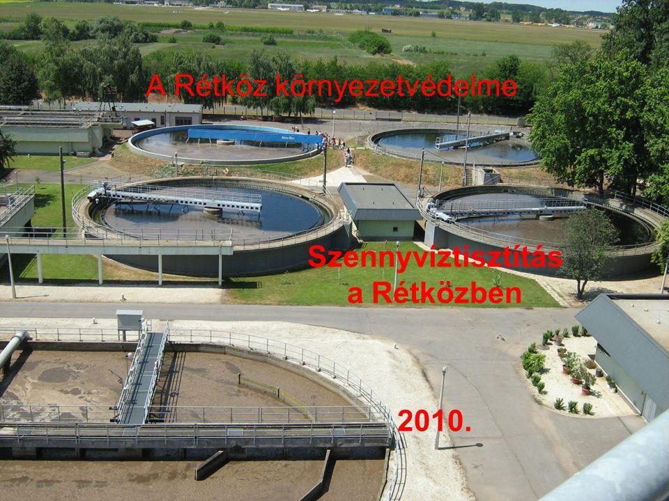 A Rétköz környezetvédelme Szennyvíztisztítás a Rétközben 2010.