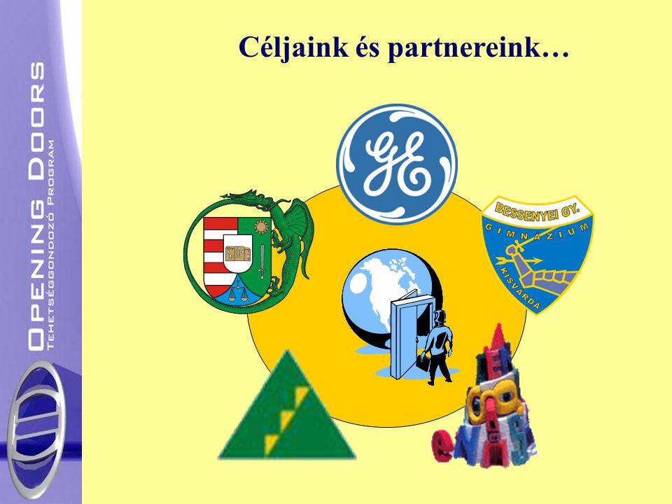 Céljaink és partnereink…