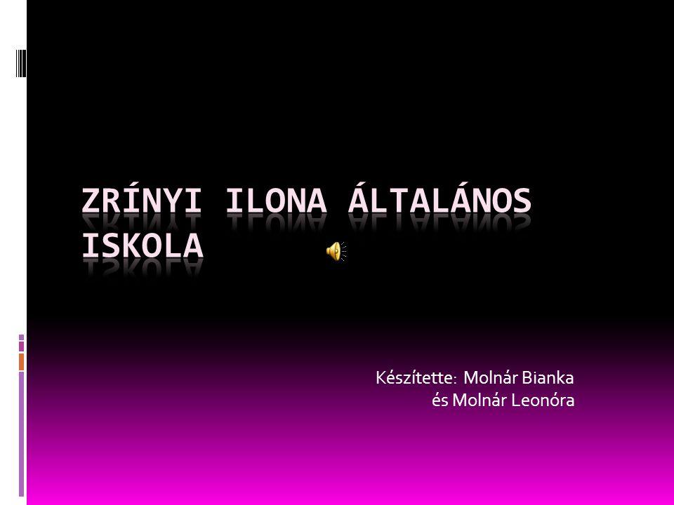 Készítette: Molnár Bianka és Molnár Leonóra