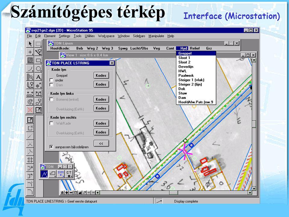 Interface (Microstation) Számítógépes térkép