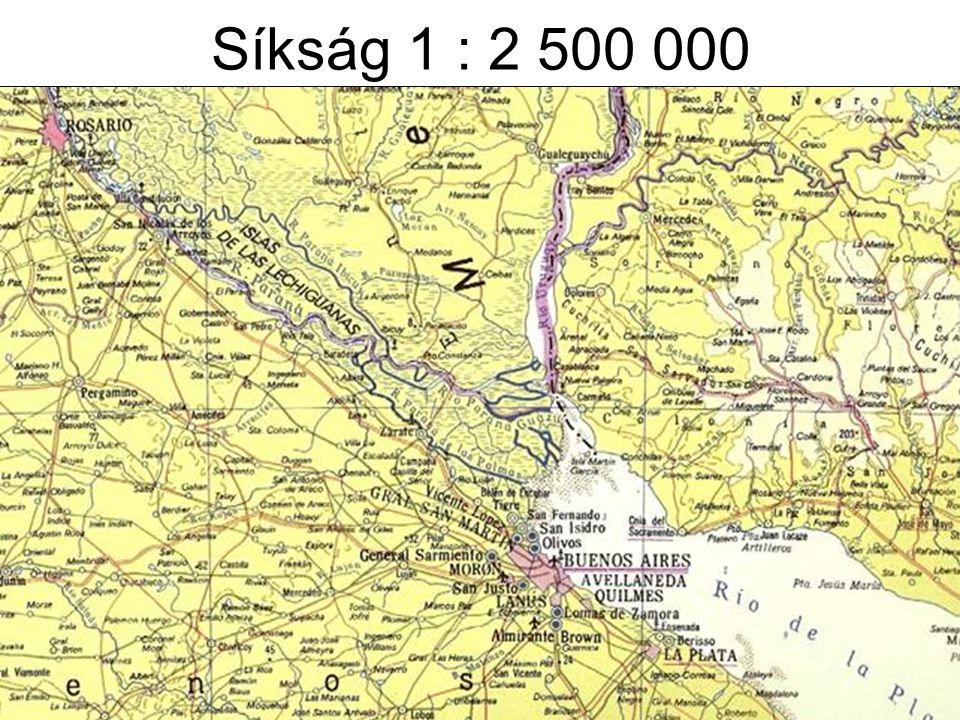 Mélyföld 1 : 8 000 000