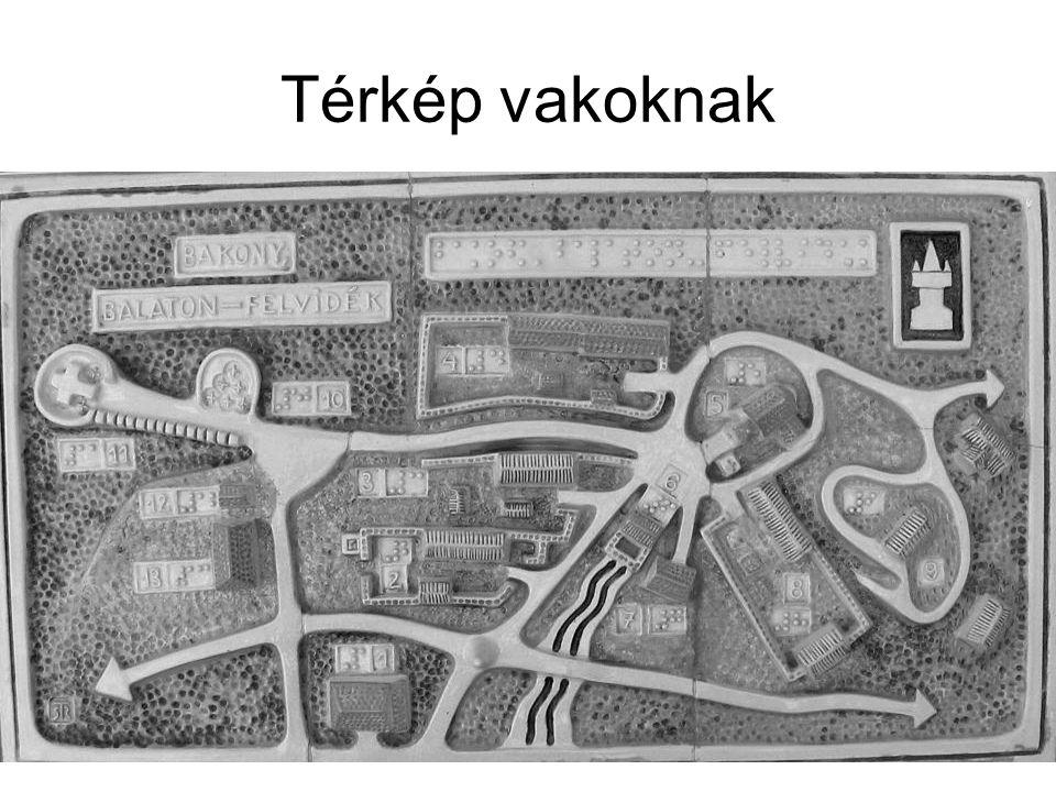 Térkép vakoknak