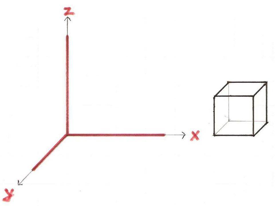 Képsíkra ferde axonometria Képsíkra ferde vetítősugarak x és y tengely z tengely: xy tetszőleges szögben Katonai axonometria