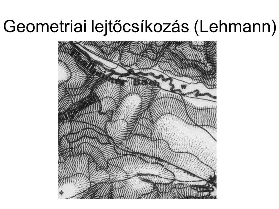 Geometriai lejtőcsíkozás (Lehmann)