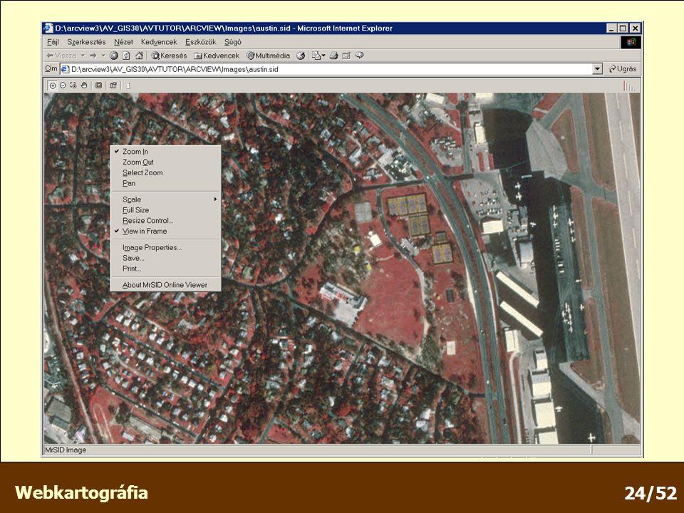 Webkartográfia 24/52