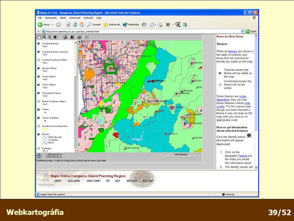 Webkartográfia 39/52