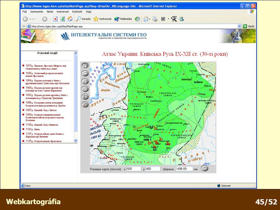 Webkartográfia 45/52
