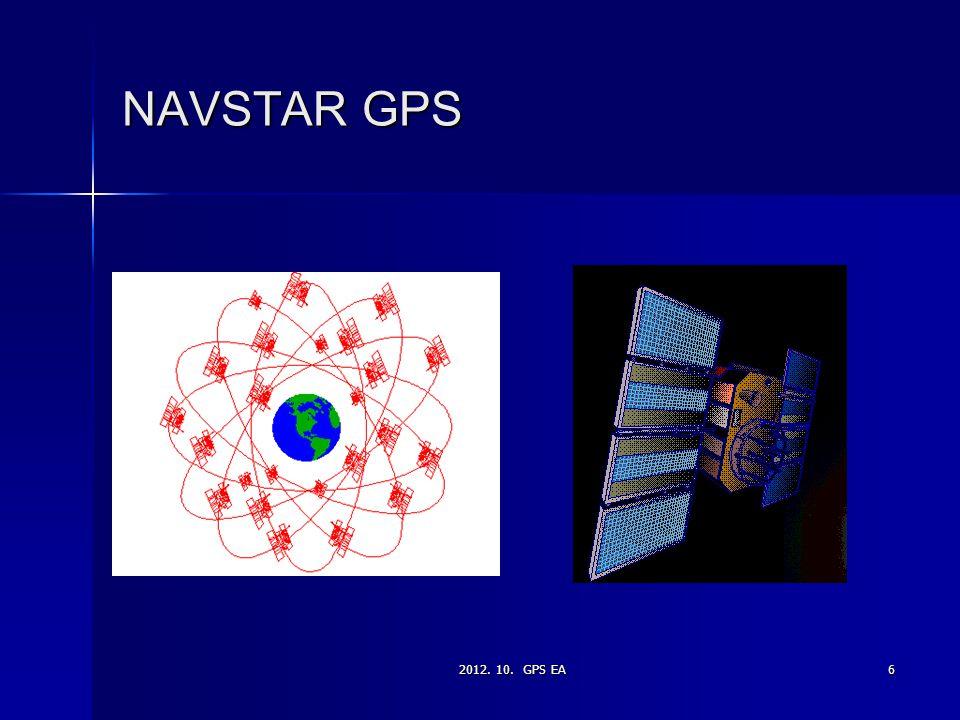 2012. 10. GPS EA6 NAVSTAR GPS