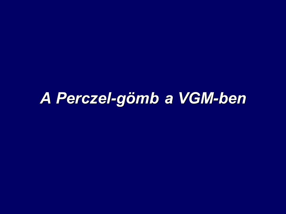 A Perczel-gömb a VGM-ben