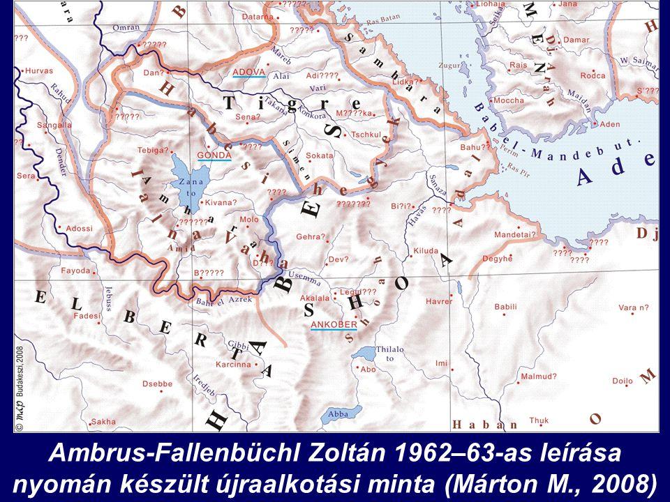 Ambrus-Fallenbüchl Zoltán 1962–63-as leírása nyomán készült újraalkotási minta (Márton M., 2008)