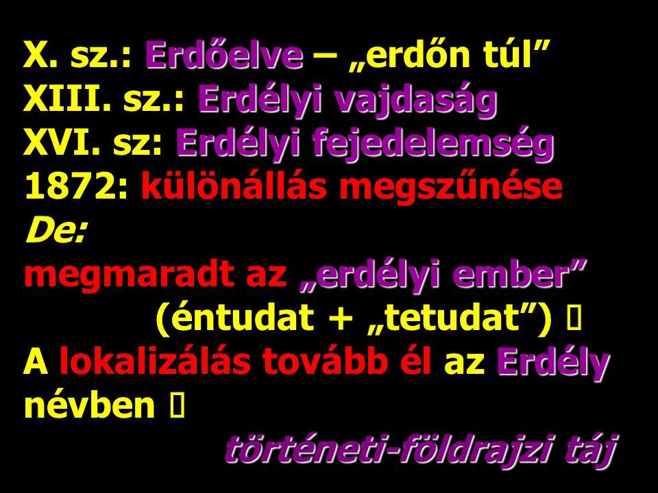 """Borsod + Abaúj-Torna + Zemplén = Borsod-Abaúj-Zemplén megye (1950) De: Sátoraljaújhely környéki ember nem lett """"borsodi""""! ő Ő """"zempléni"""" (identitástud"""