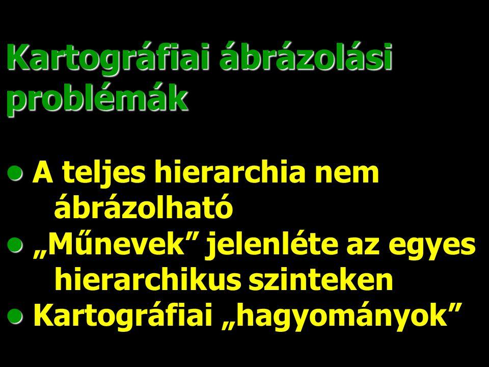 Magyarország atlasz [Cartographia Kft.1999] Földrajzi világatlasz [Nyír-Karta–Topográf 2003] Névrajzi különbségek ugyanazon területen, két atlaszban