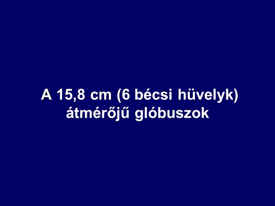 Hunfalvy egyfokos beosztású 10°-onként megírt réz fél-meridiánkörös felszerelésű, 15,8 cm-es földgömbje Császi Tamás glóbuszgyűjteményéből 4.