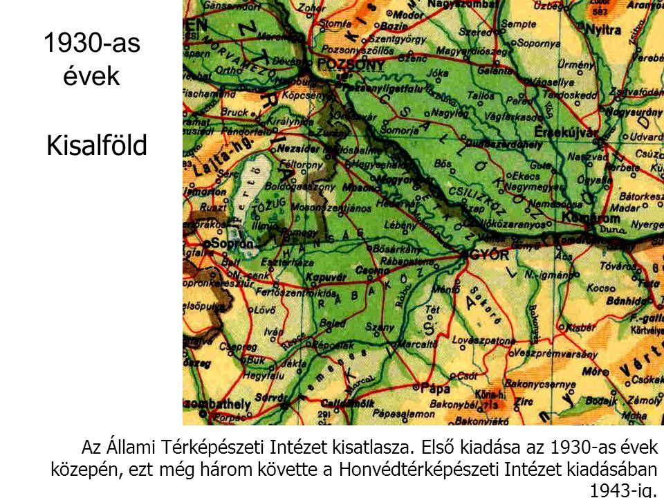1940-es évek új névadásai Ptácsnik (Vtáčník) = Madaras Vihorlát (Vihorlat) = Viharlátó Szinyák (Szinyak) = Kéklő Szvidovec (Szvidovec) = Fagyalos Gutin-hegység (Munţii Gutâi) = Ezüstös Cibles (Ţibles) = Széples Eperjes–Tokaji-hegység = Sátor-hegység Toroiaga = Toronyága (1939 m ) Pop Iván = Iván-havas (1940 m) Hoverla = Horthy Miklós-csúcs