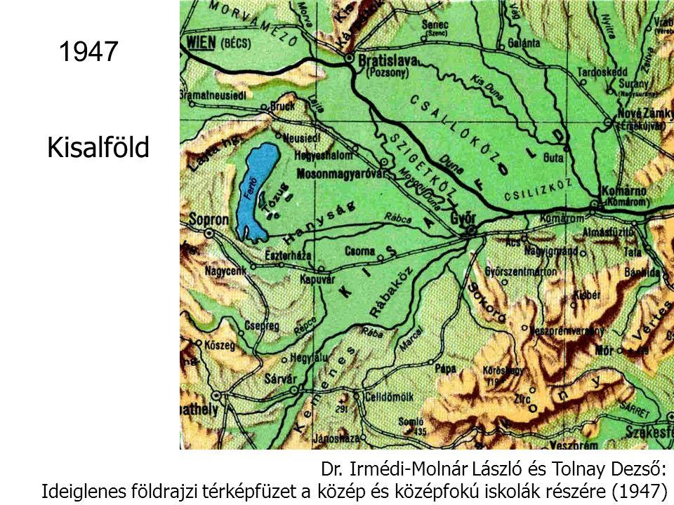 Földrajzi térképfüzet (tervezte és rajzolta: Takács József és Bognár Gábor), Tankönyvkiadó, Budapest 1953 1953 Zempléni-hegysor 0