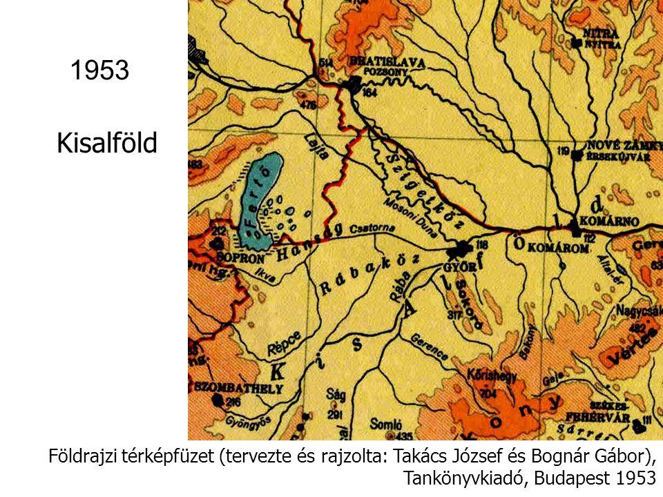 Földrajzi atlasz a középiskolák számára [Kartográfiai Vállalat Budapest, 1955] 1955 Zempléni-hg.