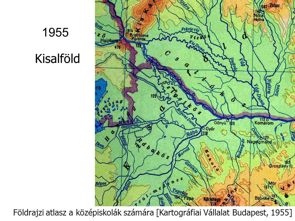 Világatlasz (szerk.biz.elnök: Radó Sándor) [Kartográfiai Vállalat Budapest,1959] Zempléni-hg.