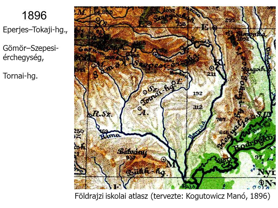 Földrajzi iskolai atlasz (tervezte: Kogutowicz Manó, 1896) 1896 0