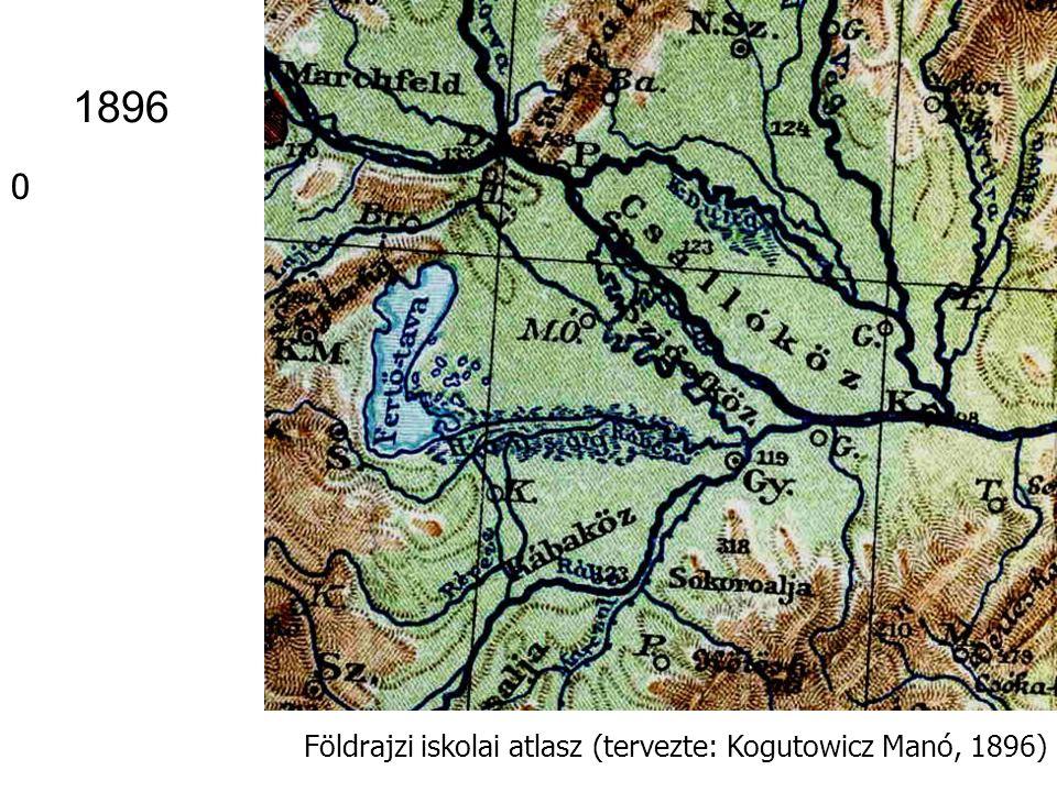 Kozma–Kőrösi Rendszeres földrajzi atlasz (szerk.: Kozma Gyula és Kőrösi Albin) Singer és Wolfner kiadása Budapest, 1907 Eperjes–Tokaji- hg.