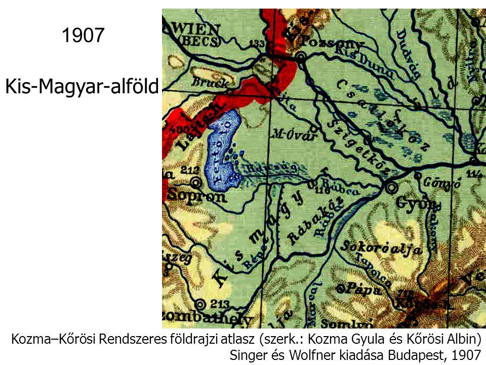 Kogutowicz Földrajzi iskolai atlasz (Magyar Földrajzi Intézet Rt.
