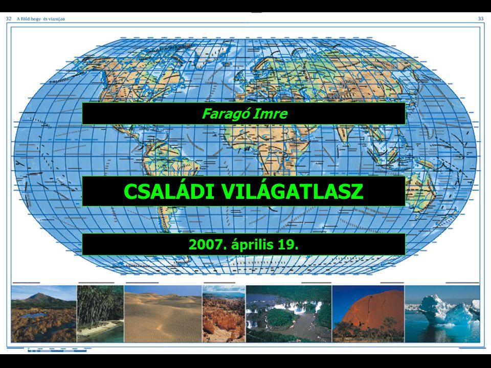 """Adatok 408 oldal 136 térképoldal 67 000 földrajzi név Méret: 25 x 35 cm Az atlasz több borítóval, két tartalmi méretben jelent meg, """"Családi és """"Kompakt világatlasz címmel."""