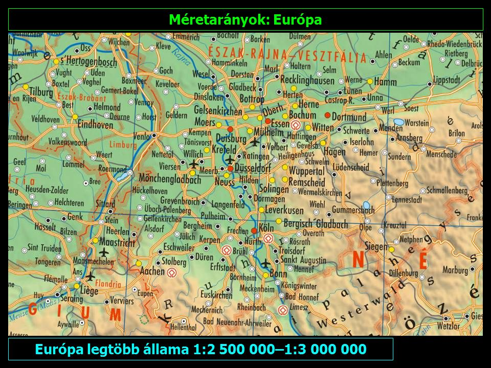 Észak- és Kelet-Európa 1:5 000 000–1:7 500 000