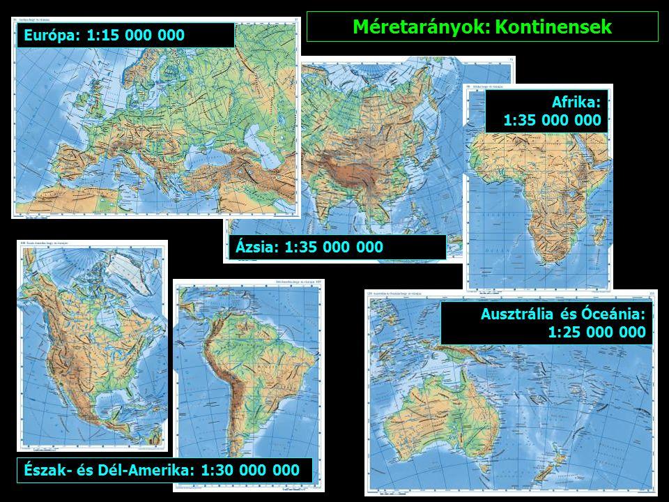Méretarány: Föld 1:80 000 0000
