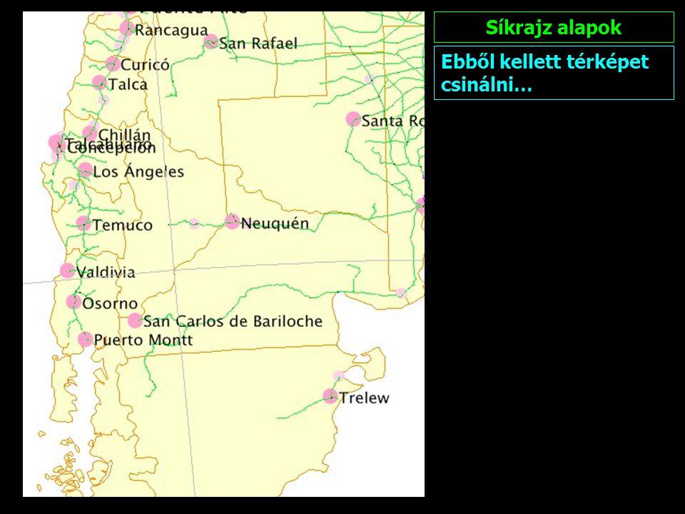 NÉVRAJZ A névrajz szerkesztésének elvi alapja, hogy magyar olvasónak szóló térképeket készítünk.