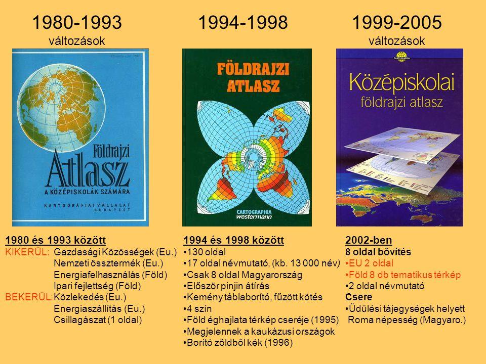1980 és 1993 között KIKERÜL:Gazdasági Közösségek (Eu.) Nemzeti össztermék (Eu.) Energiafelhasználás (Föld) Ipari fejlettség (Föld) BEKERÜL:Közlekedés