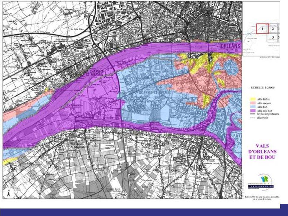 19 Mértékadó árvízszint: Legmagasabb ismert vízszint KOCKÁZATI ÁRVÍZSZINT Közép-Loire Létező árvízkockázati térképek: –Atlasz az árvíz veszélyeztette