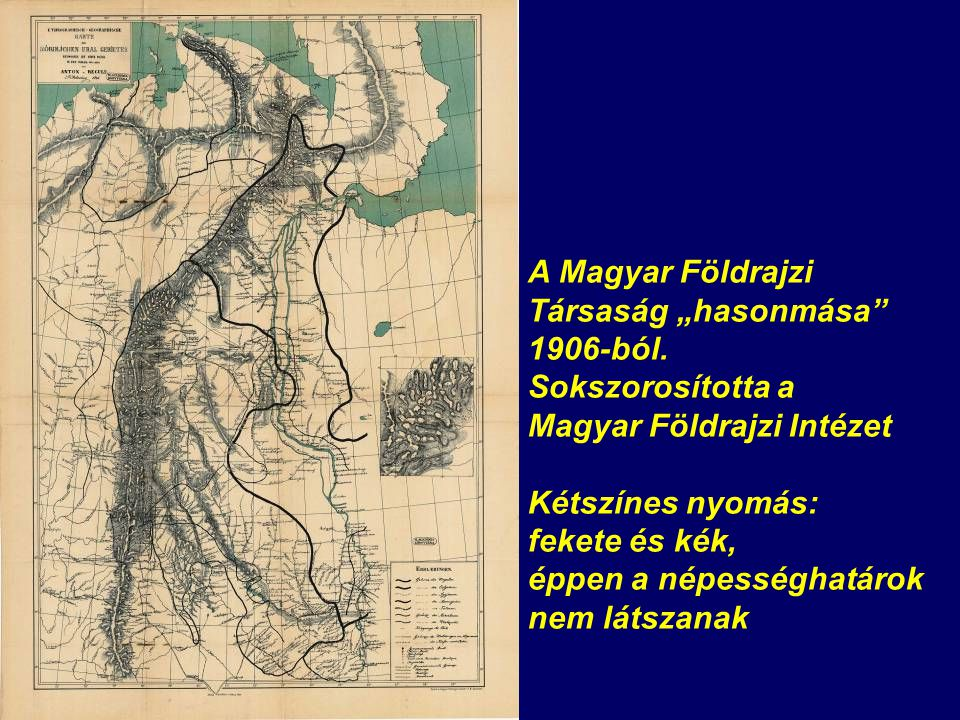Karte N ro V.Übersicht des ostjakischen und samojedischen Uralgebietes.