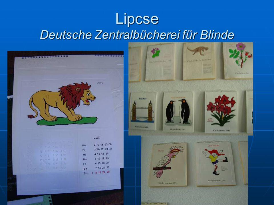 Lipcse Deutsche Zentralbücherei für Blinde
