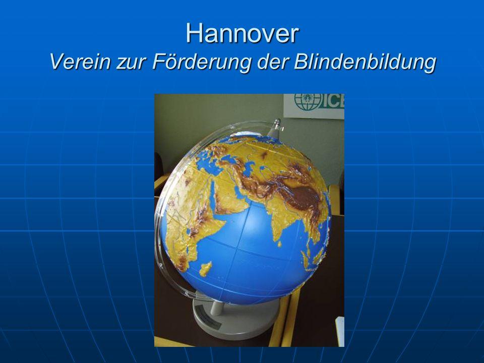 Hannover Verein zur Förderung der Blindenbildung