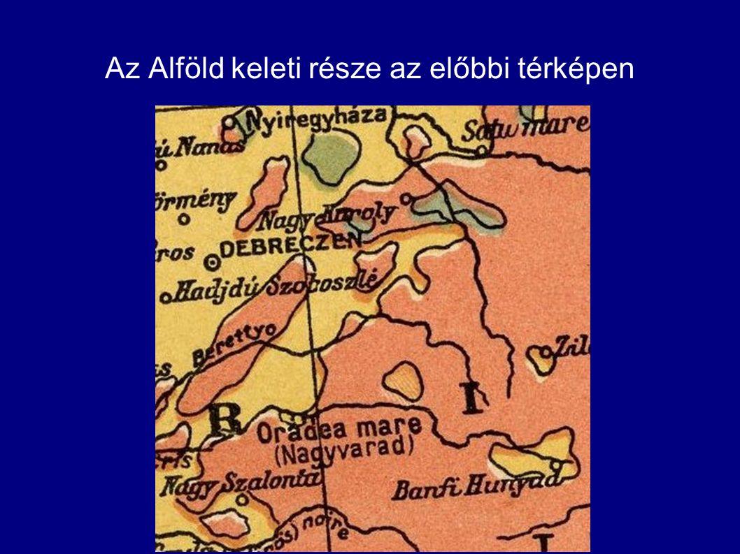 Térképi források Az előbbi két térkép forrása a Burky-féle térképnek.