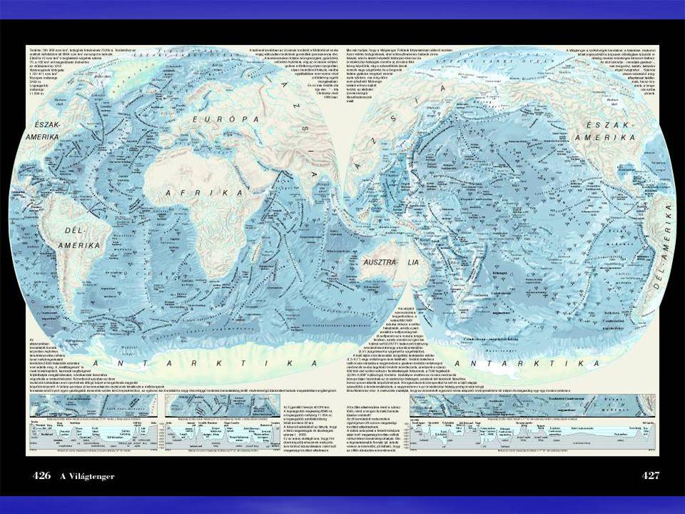 Az Atlanti-, az Indiai- és a Csendes-óceán déli részének víztömegei összefüggő víztestet alkotnak, mivel az óceánok széles kapukkal nyílnak egymásba.