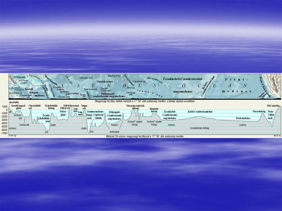 A jégkorszaki jég munkájának eredményeit megtalálhatjuk a ma már jégmentes self területein is.