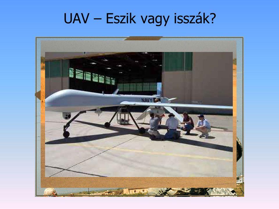 UAV – Eszik vagy isszák