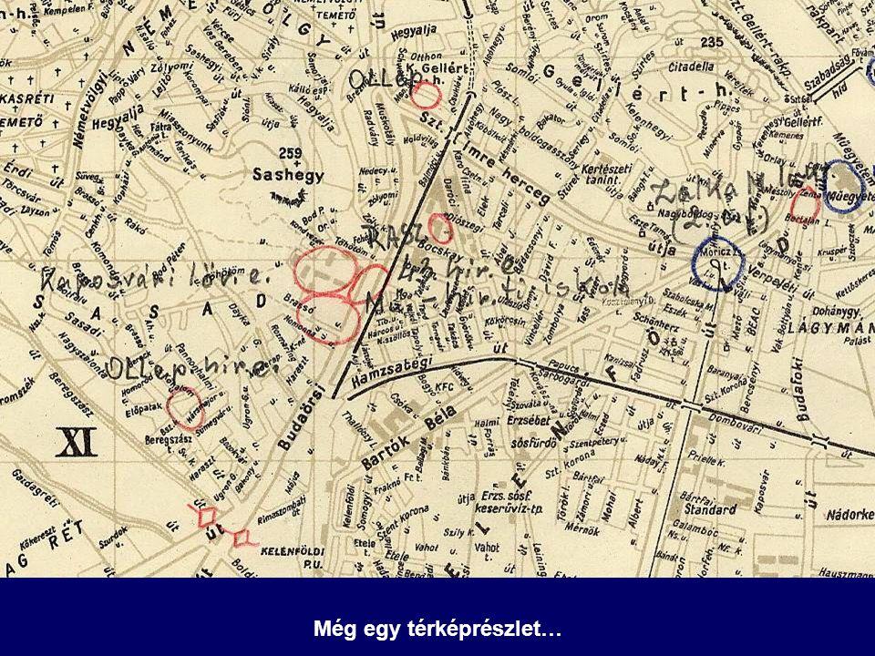 Még egy térképrészlet…