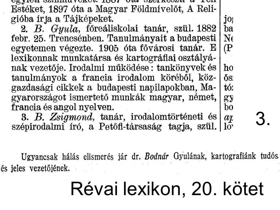 3. Révai lexikon, 20. kötet