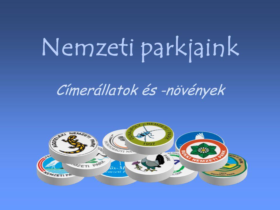 Nemzeti parkjaink Címerállatok és -növények