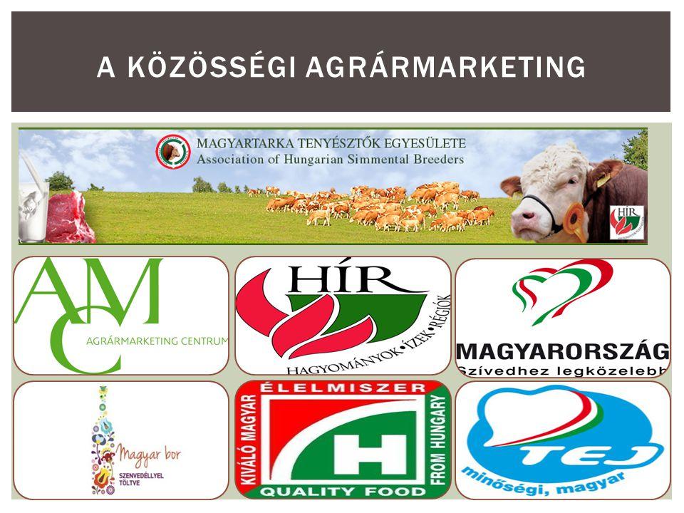 AZ AGRÁRMARKETING LEHETŐSÉGEI ÉS TÍPUSAI Gazdálkodó egység mérete Termékdifferenciáltság foka CSEKÉLYNAGYFOKÚ KICSIKorlátozott marketing Piaci résre irányuló marketing NAGY Ár- és elosztásorientált marketing Teljes marketing 4 A MARKETING EGYÜTTMŰKÖDÉSEK HÁTTERE LEHOTA (2001), MEULENBERG (1986) nyomán Piacbefolyásolásra nincs lehetőség Közösségi marketing kiemelten fontos Nincs lehetőség önálló marketing- kommunikációra Nagy piaci részarány, magasan feldolgozott termék
