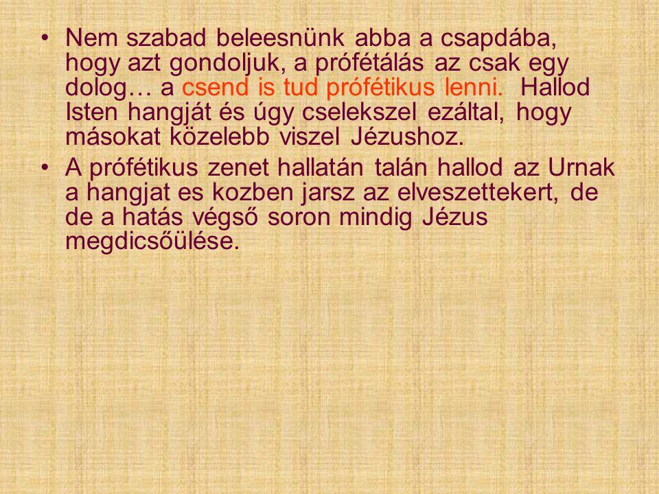 2 Királyok 3:15-ben 2 Királyok 3:15-ben Elizeus így szólt: Hozzatok ide egy énekest.