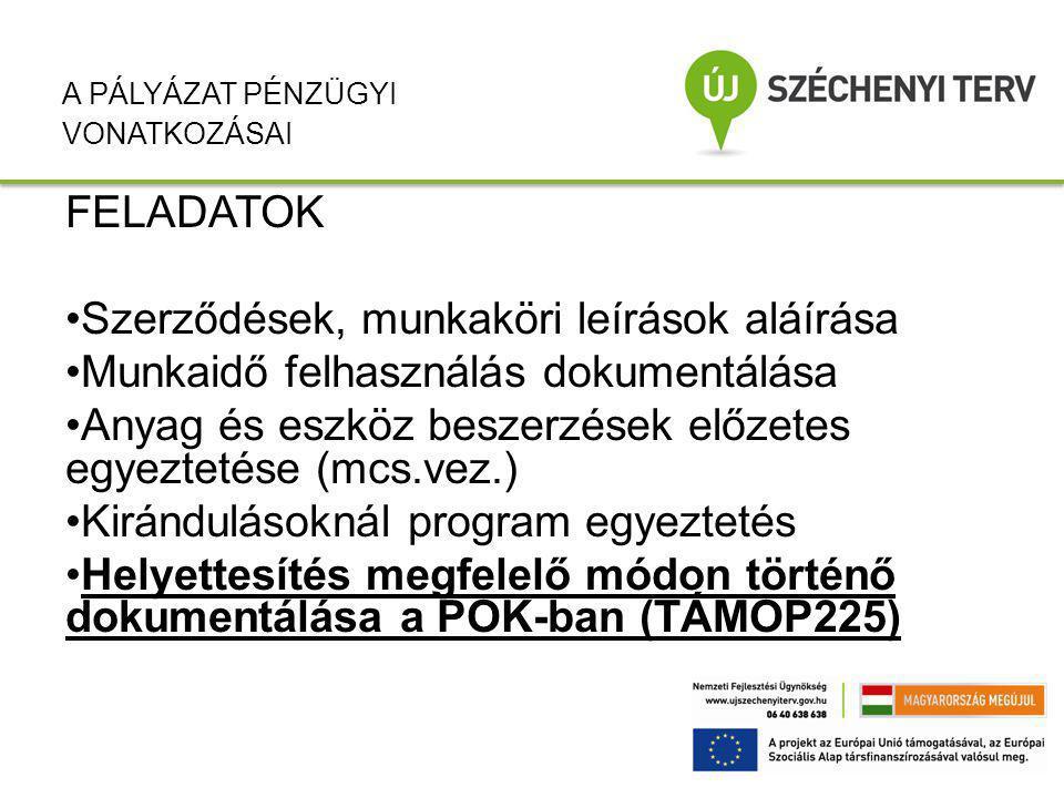 HATÁRIDŐK –Egyszeri: október 1-december 20-ig tartó időszakra munkaidő nyilvántartás elkészítése és leadása személyenként 2012.