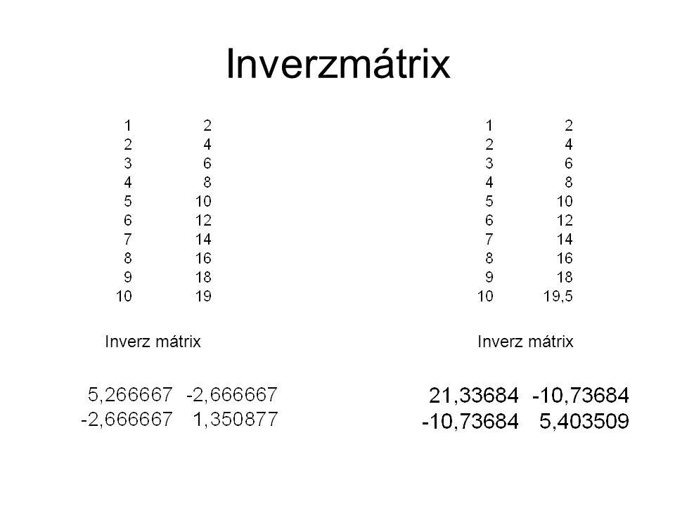 Inverzmátrix
