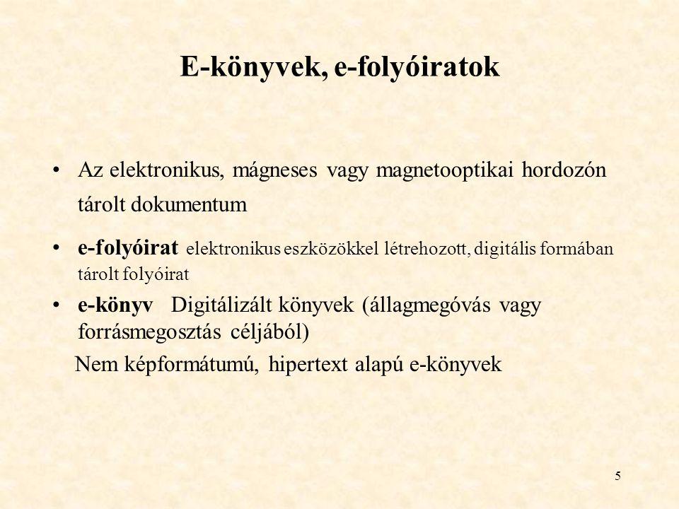 16 Könyvtár funkciói Kulturális – a felhalmozott emberi tudás és kultúra dokumentumainak gyűjtése, rendszerezése, őrzése és rendelkezésre bocsátása Együttműködés: információforrások beszerzésében, feldolgozásában és használatában.