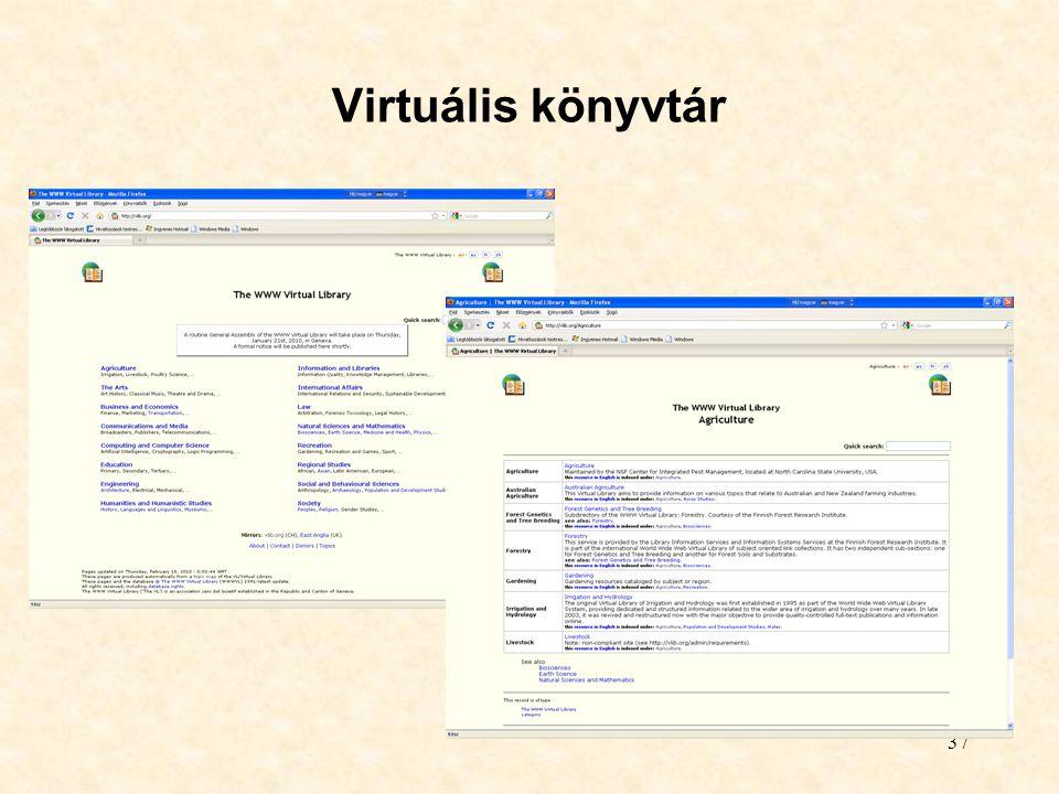 37 Virtuális könyvtár