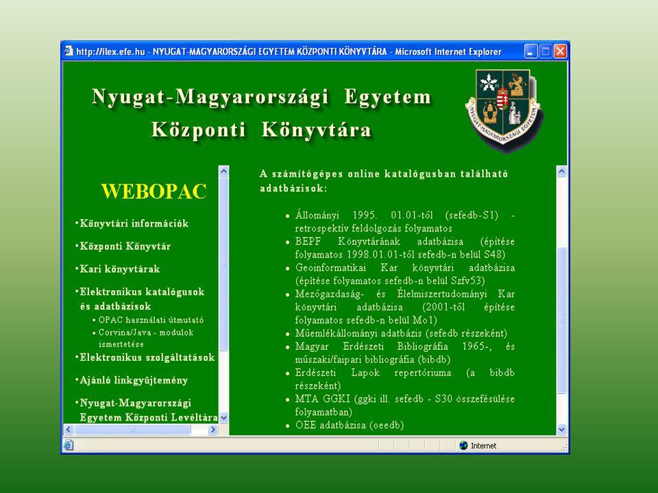 Együttműködés – új lehetőségek Országos Dokumentum-ellátási Rendszer ODR Magyar Országos Közös Katalógus MOKKA