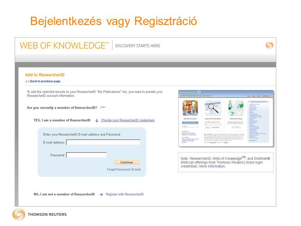Bejelentkezés vagy Regisztráció