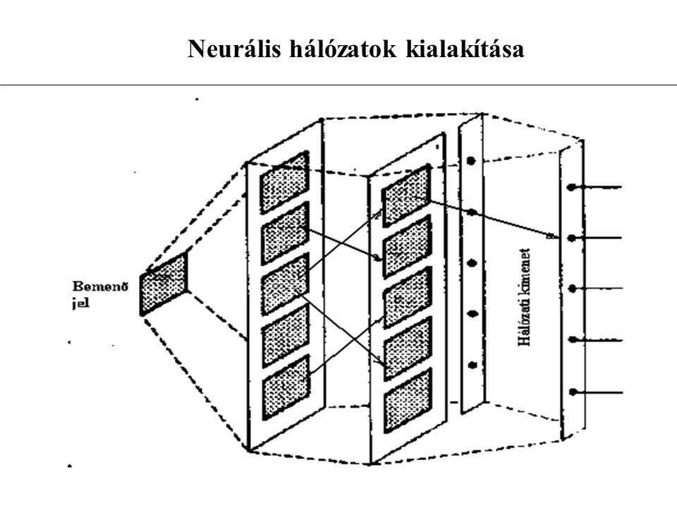 Neurális hálózatok kialakítása