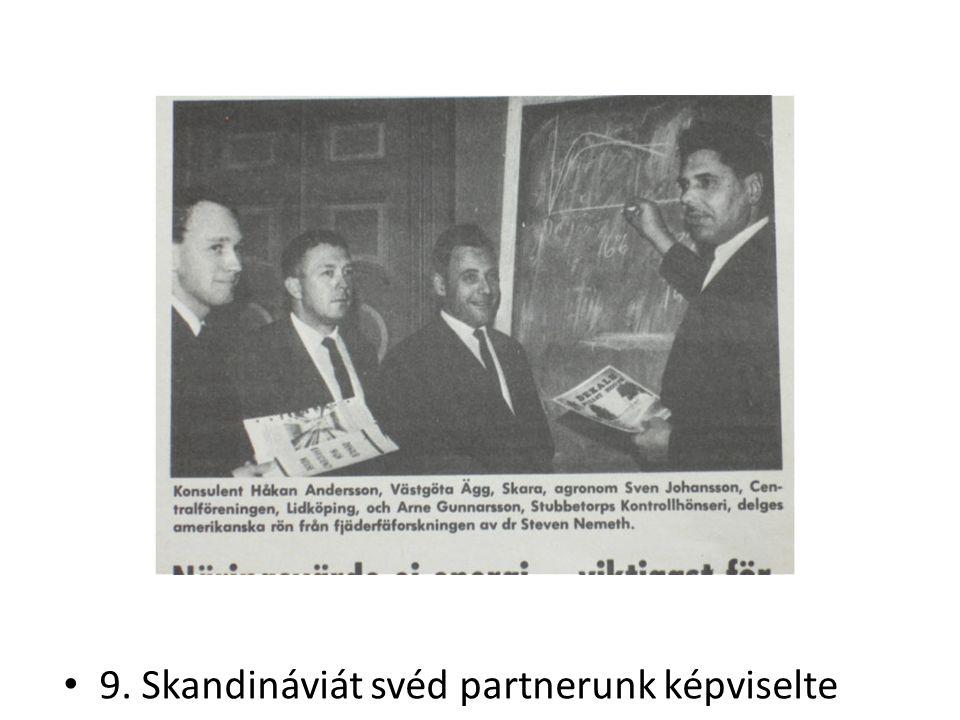 9. Skandináviát svéd partnerunk képviselte